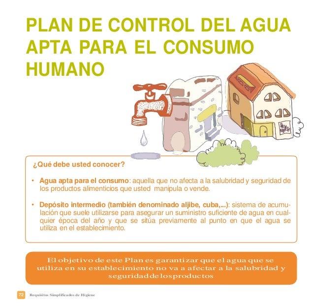 75Requisitos Simplificados de Higiene ESTABLECIMIENTOCON: CLR ANÁLISISDECONTROL Depósitointermedio (aguadelared) Semanal -...