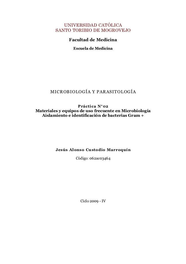 UNIVERSIDAD CATÓLICA          SANTO TORIBIO DE MOGROVEJO                 Facultad de Medicina                  Escuela de ...