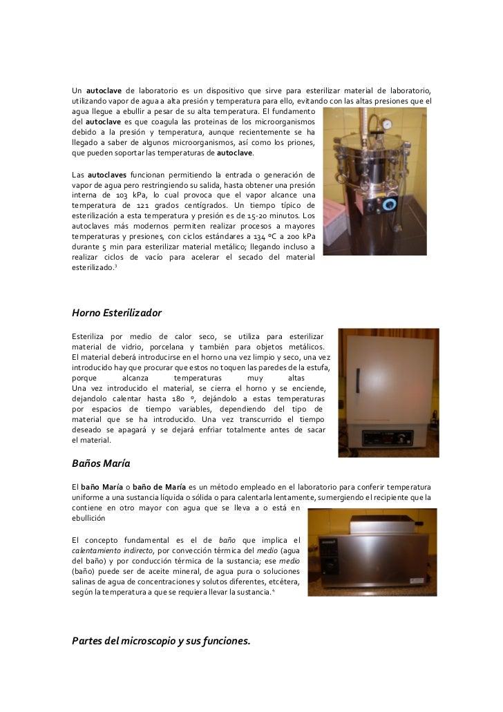 Un autoclave de laboratorio es un dispositivo que sirve para esterilizar material de laboratorio, utilizando vapor de agua...
