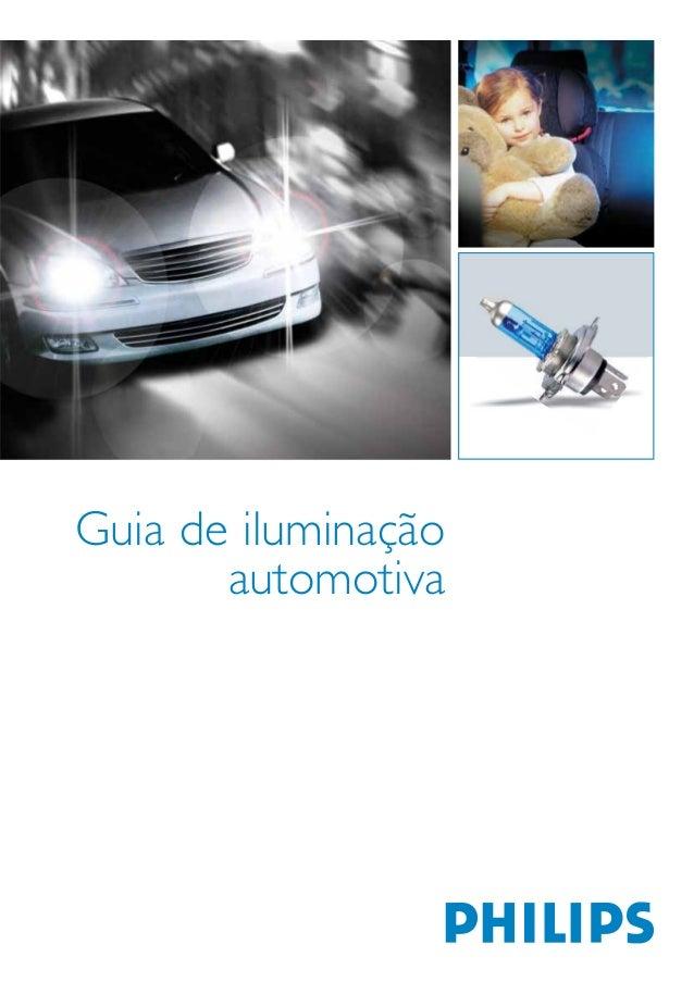 Guia de iluminação automotiva
