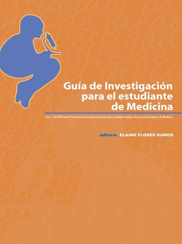 Guia investigacion para el estudiante de medicina socipem0405