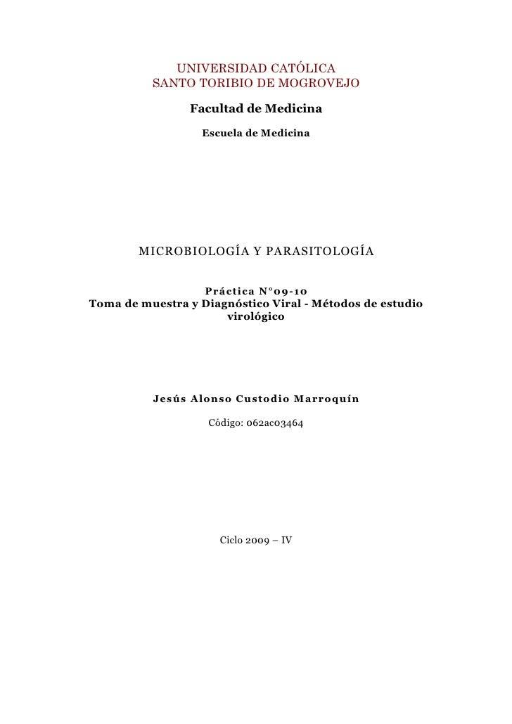 UNIVERSIDAD CATÓLICA           SANTO TORIBIO DE MOGROVEJO                  Facultad de Medicina                   Escuela ...