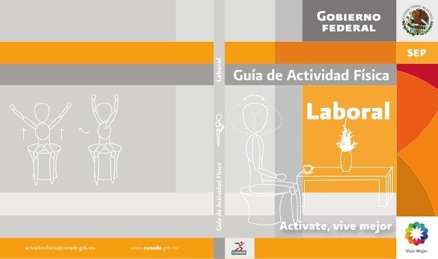 Laboral Comisión Nacional de Cultura Física y Deporte Guía de Actividad Física