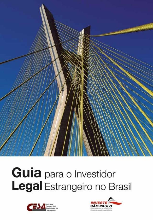Guia Legal para o Investidor Estrangeiro no Brasil 100 K 50 K 25 K 0 C, 100 M, 100Y, 5K