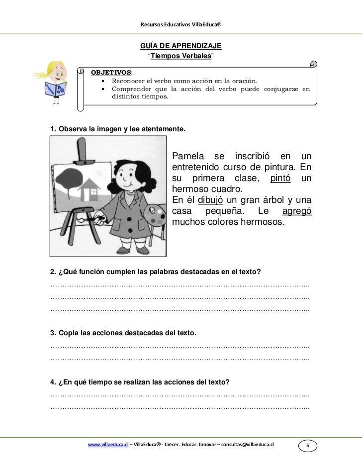 """Recursos Educativos VillaEduca®                                  GUÍA DE APRENDIZAJE                                    """"T..."""