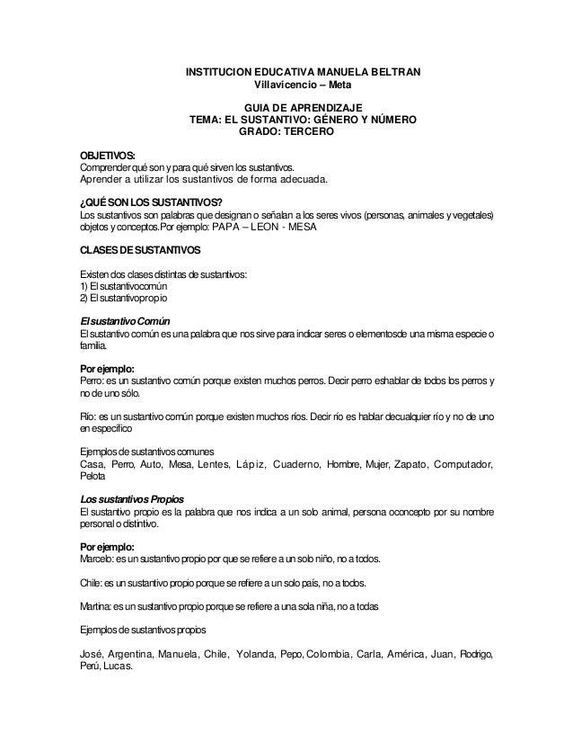 INSTITUCION EDUCATIVA MANUELA BELTRAN                                        Villavicencio – Meta                         ...