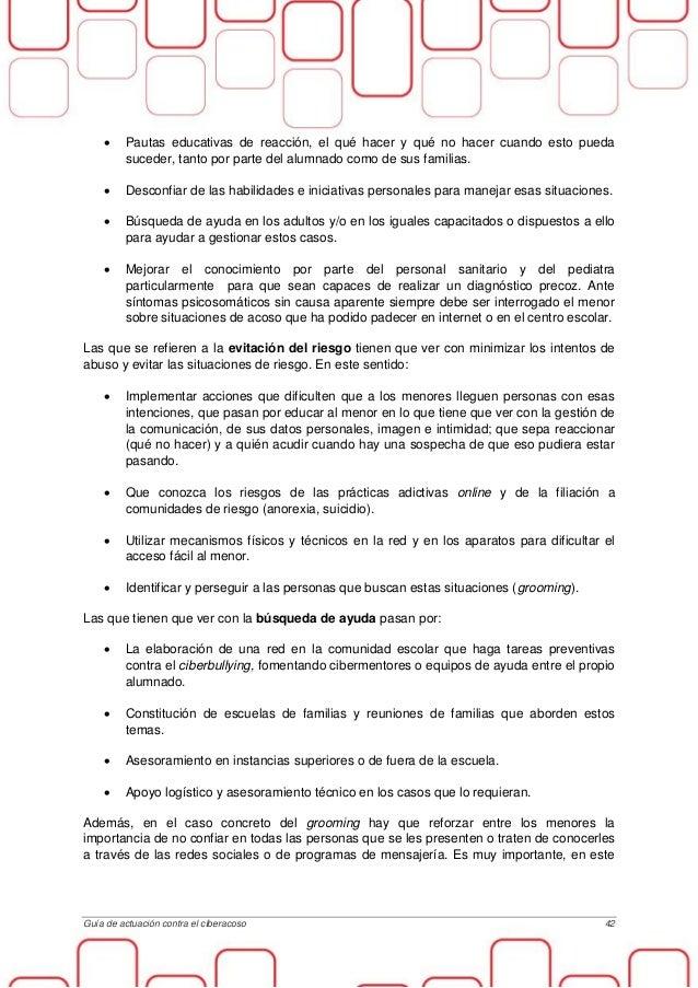 Guia lucha ciberacoso menores osi - Casos de ciberacoso en espana ...