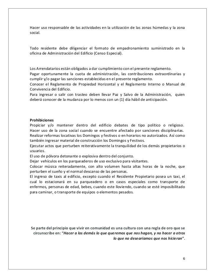 Guia manual de convivencia for Oficina empadronamiento