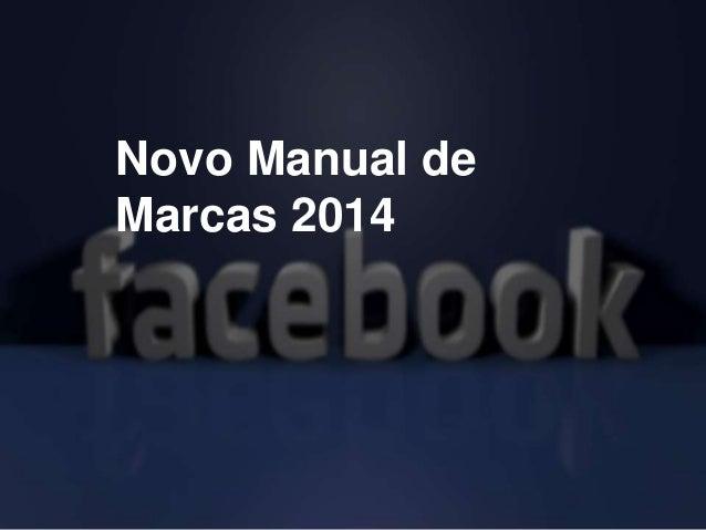 Novo Manual de Marcas 2014