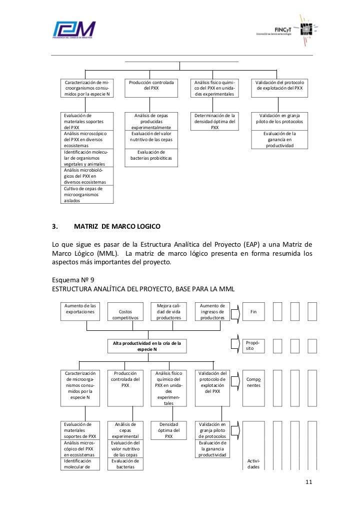 Guia marco logico