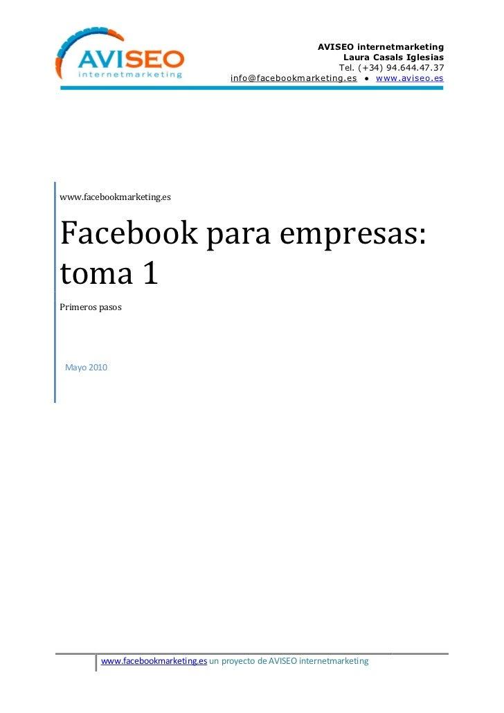 AVISEO internetmarketing                                                              Laura Casals Iglesias               ...