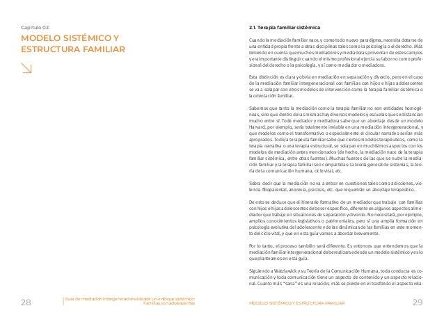 Guía De Mediación Intergeneracional Desde Un Enfoque