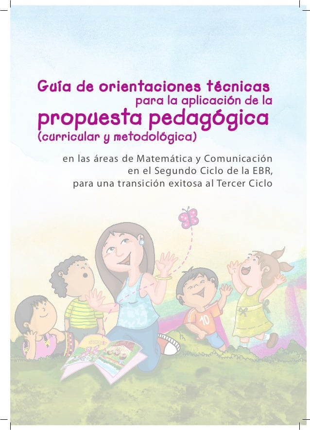 en las áreas de Matemática y Comunicación en el Segundo Ciclo de la EBR, para una transición exitosa al Tercer Ciclo Guía ...