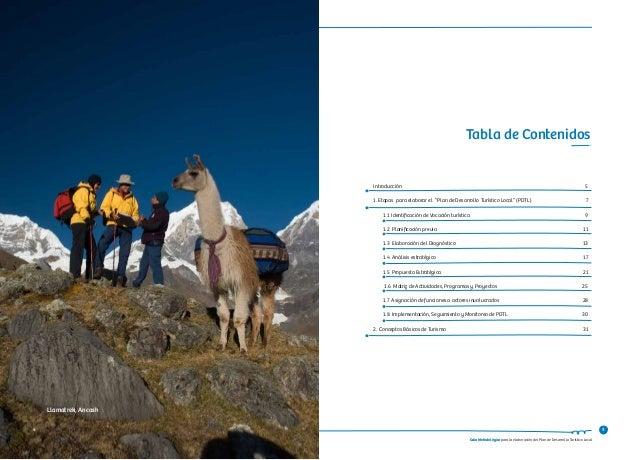 Guia Metodológica 2013 de Elaboración de Planes de Desarrollo Turístico Local. MINCETUR, Peru. Slide 3