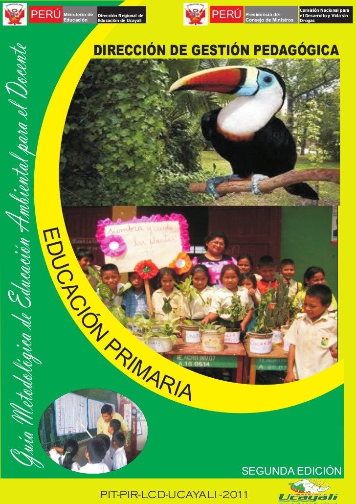 Comisión Nacional paraPERÚ Ministerio de     Educación                     Dirección Regional de                     Educa...