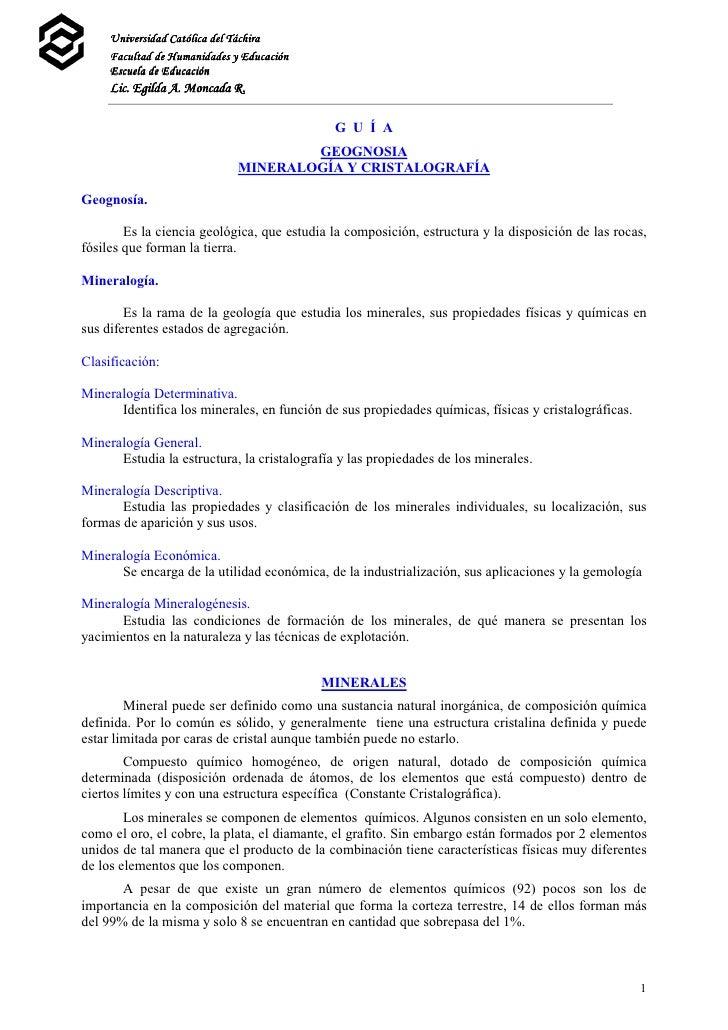 Universidad Católica del Táchira     Facultad de Humanidades y Educación     Escuela de Educación     Lic. Egilda A. Monca...