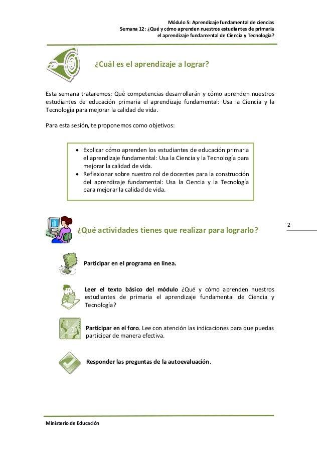 Guia Modulo5 Primaria Ciencia Y Tecnologia