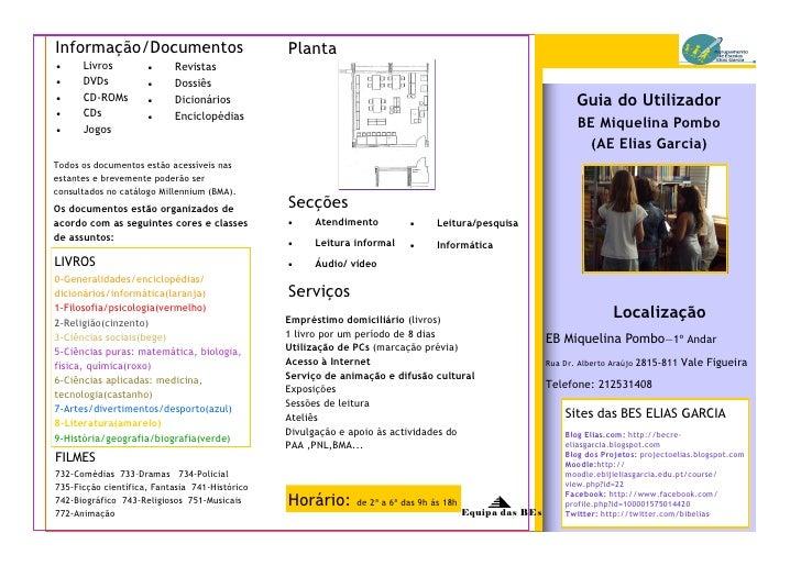 Informação/Documentos                           Planta     Livros              Revistas     DVDs                Dossiê...
