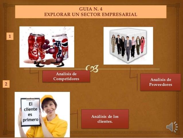 Analisis deCompetidores                     Analisis de                                 Proveedores               Análisis...