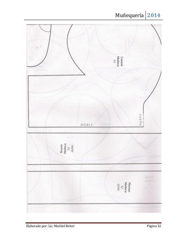 Muñequería 2014  Elaborado por: Lic. Maribel Reiter Página 32