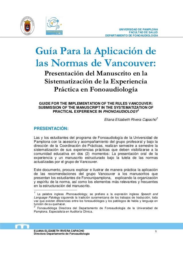 UNIVERSIDAD DE PAMPLONA                                                                 FACULTAD DE SALUD                 ...