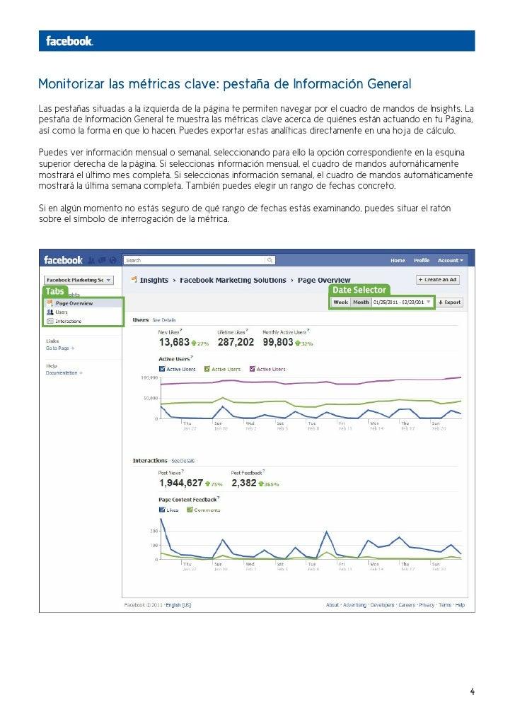 Monitorizar las métricas clave: pestaña de Información GeneralLas pestañas situadas a la izquierda de la página te permite...