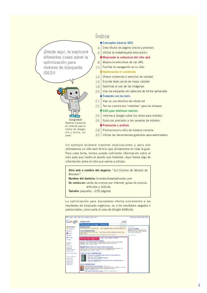 Índice                                             Conceptos básicos SEO                                        4 Crea tít...