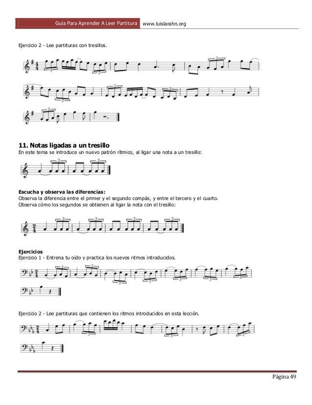 aprende a leer partituras