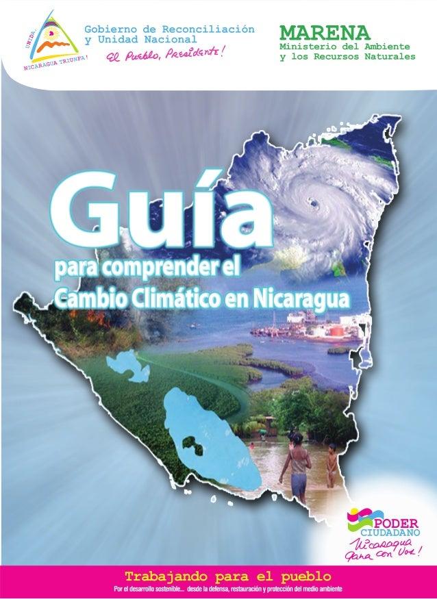 Guíapara comprender el Cambio Climático en Nicaragua Guíapara comprender el Cambio Climático en Nicaragua