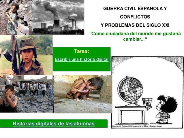 GUERRA CIVIL ESPAÑOLA Y                                                 CONFLICTOS                                        ...
