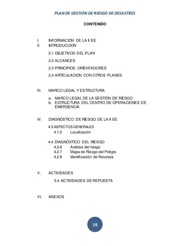 Guía para elaboración de planes en gestión de riesgo I.E. ariosto mat…