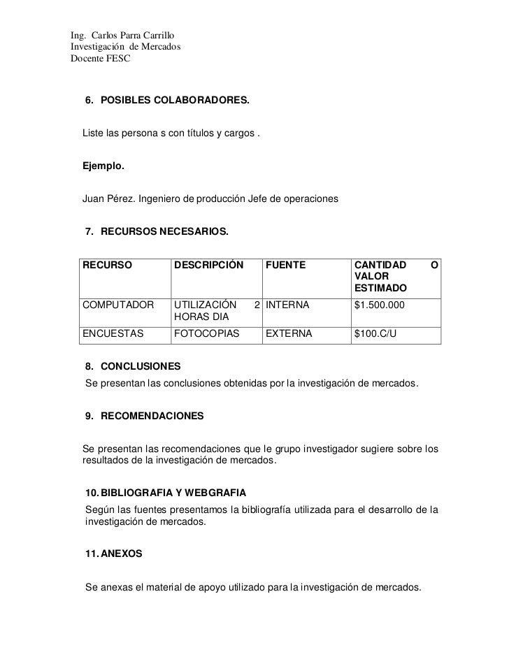 formato para propuesta de servicios