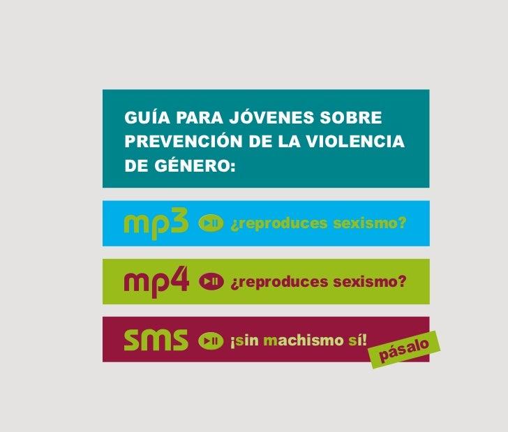Guia para jovenes prevencion violencia a  traves del lenguaje y la musica Slide 3