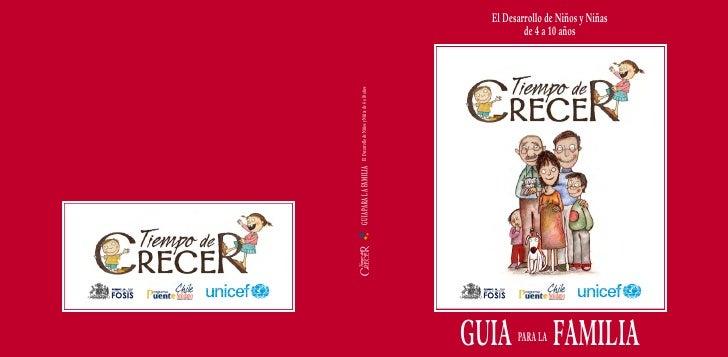GUIA PARA LA FAMILIA   El Desarrollo de Niños y Niñas de 4 a 10 añosGUIA PARA LA                                          ...
