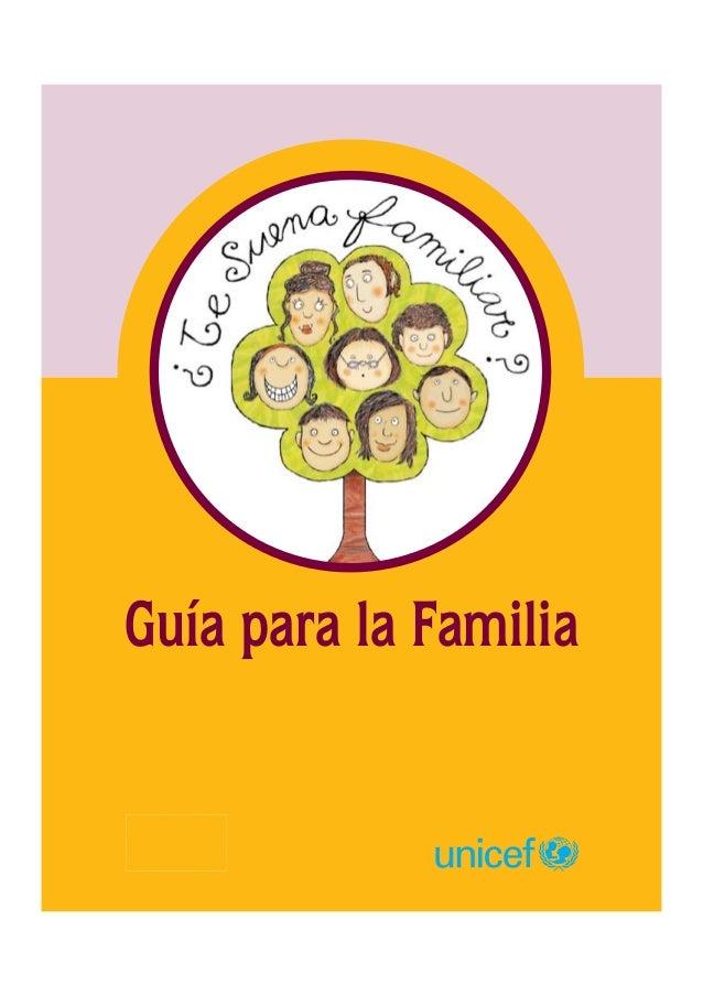 Guía para la Familia