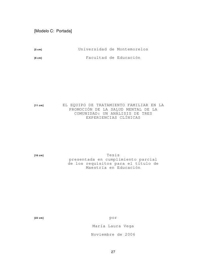 Guia para la presentación de trabajos escritos