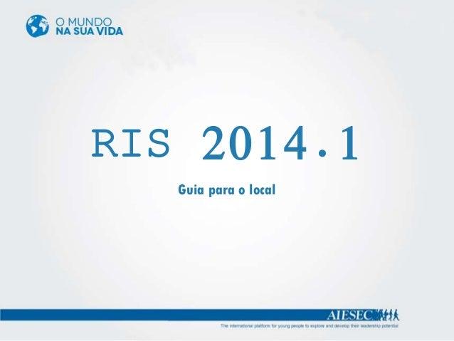 RIS 2014.1 Guia para o local