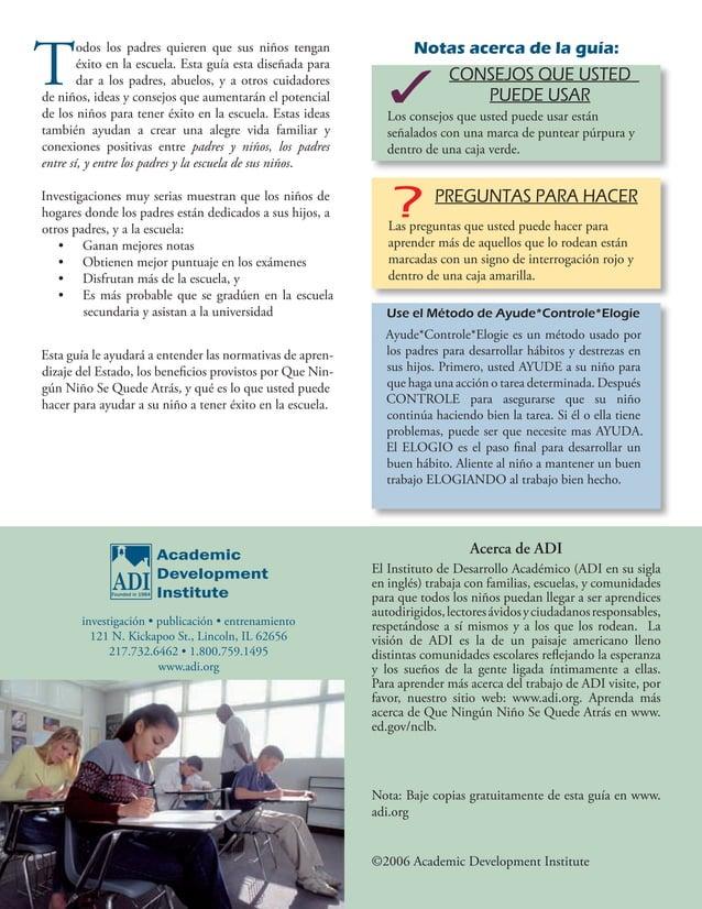 Instituto de Desarrollo Académico investigación • publicación • entrenamiento 121 N. Kickapoo St., Lincoln, IL 62656 217.7...