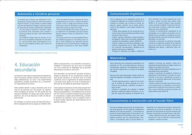 Autonomía e iniciativa personal Comunicación lingüísticaTabla 6. Desarrollo de competencias básicas en Educación Primaria....