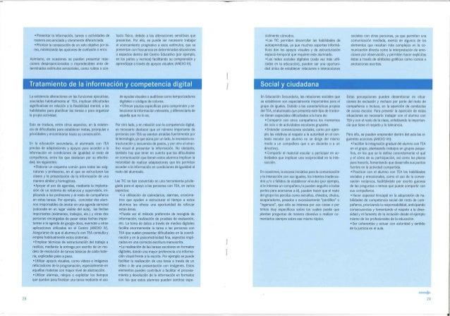 • Presentar la información, tareas o actividades demanera secuenciada y claramente diferenciada.• Priorizar la consecución...