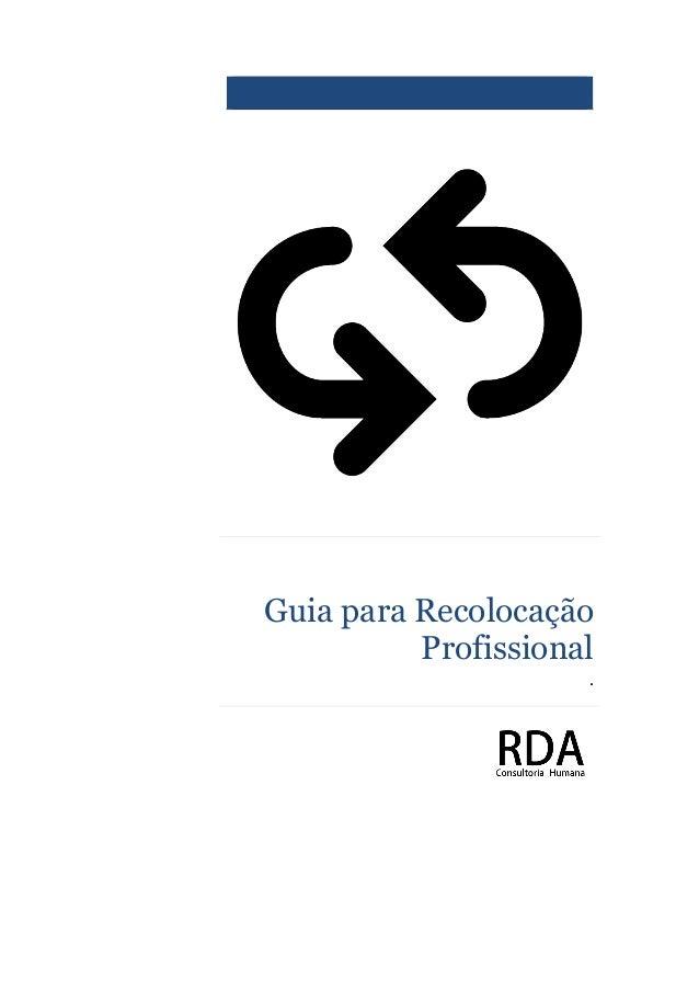 Guia para Recolocação Profissional .