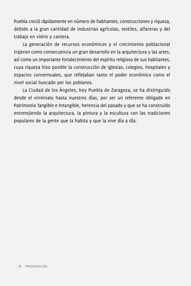 Arte sacro: presencias divinas, imágenes y semejanzas humanas México en general y Puebla en particular, tiene un enorme y ...