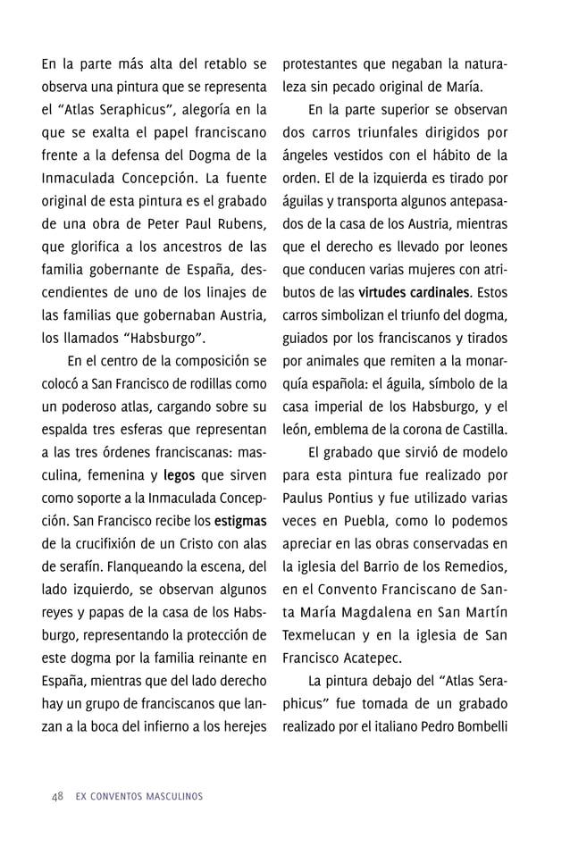 52 EX CONVENTOS MASCULINOS