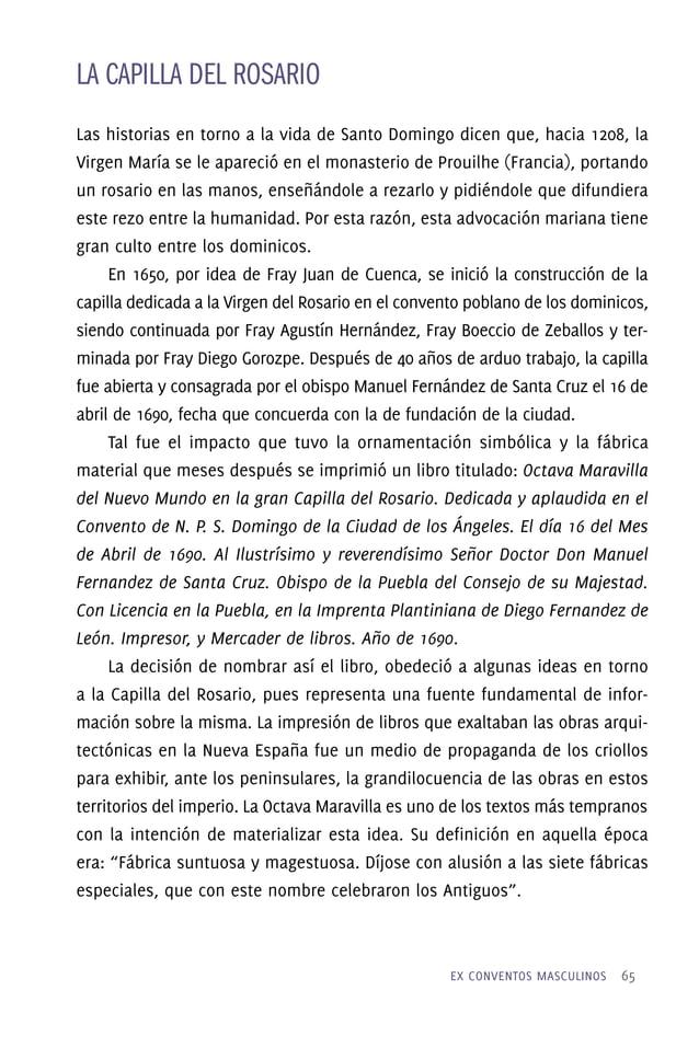 EX CONVENTOS MASCULINOS  69