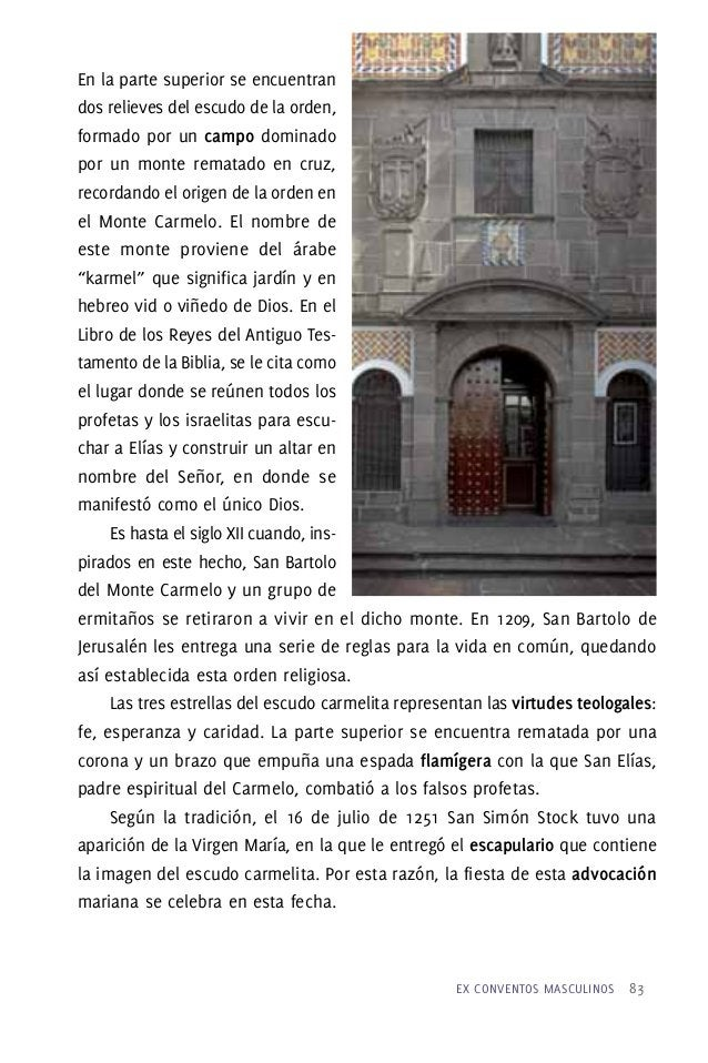 Patrocinio de San Juan de la Cruz sobre la Ciudad de Puebla Una pintura única en su temática, es la que muestra una de las...