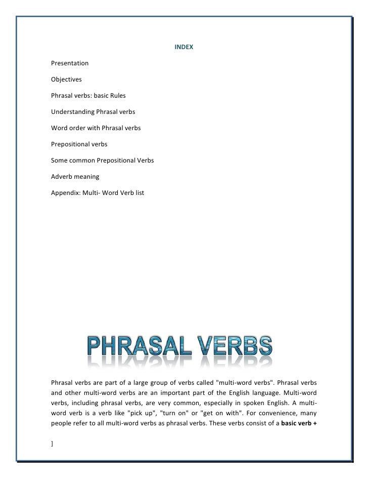Phrasal Verbs Practice Guide Slide 3