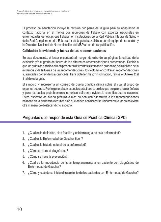 Guia Practica Clinica Enfermedad de Gaucher