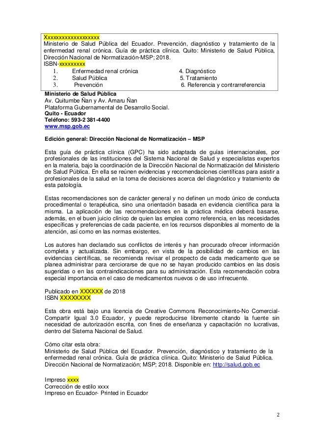 Guia prevencion diagnostico_tratamiento_enfermedad_renal_cronica_2018 Slide 2