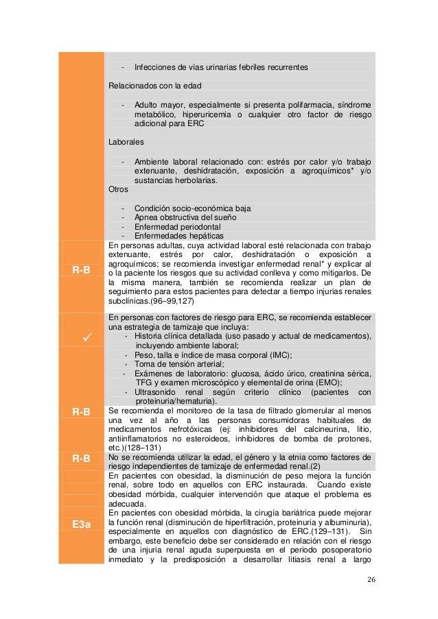 26 - Infecciones de vías urinarias febriles recurrentes Relacionados con la edad - Adulto mayor, especialmente si presenta...