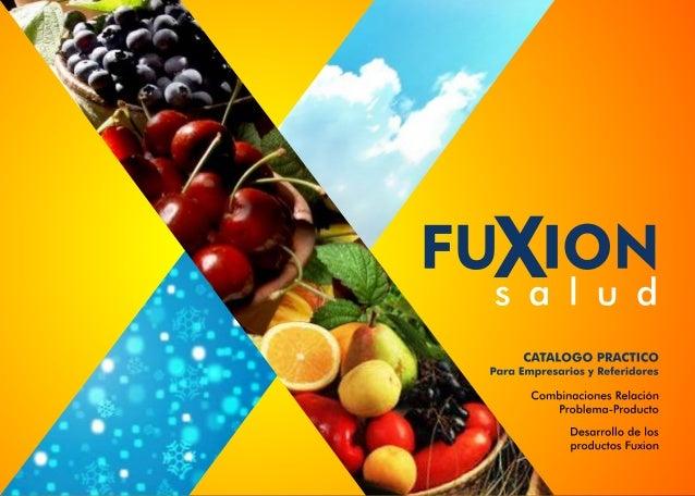 Fuxion - Guia de productos